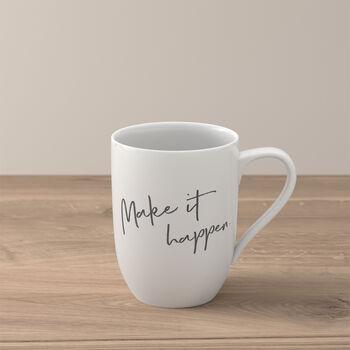 Statement mug «Make it happen»