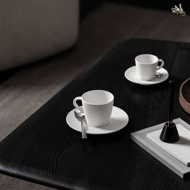 Manufacture Rock Blanc tasse à café, blanche, 10,5x8x7,5cm, , large