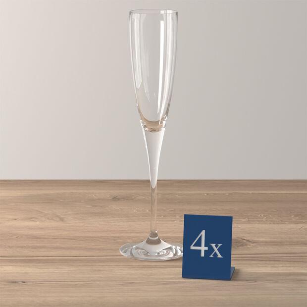 Maxima flûte à champagne, 4pièces, , large