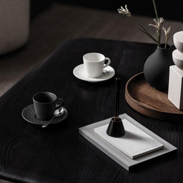 Manufacture Rock tasse à expresso, noire/grise, 8,5x6,5x6cm, , large