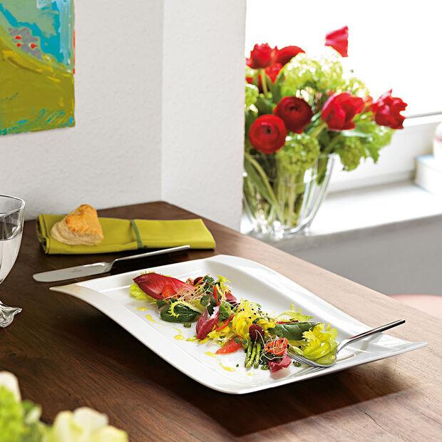 NewWave assiette gourmet 37x25cm, , large
