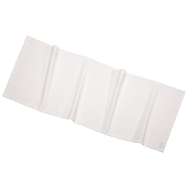 Textil Uni TREND Chemin de table ecru 50x140cm, , large