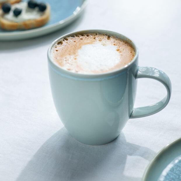Crafted Blueberry mug, turquoise, 350ml, , large