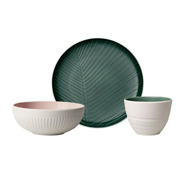 like.by Villeroy & Boch it's my match ensemble de vaisselle Starter, 3pièces, pour 1personne, , large