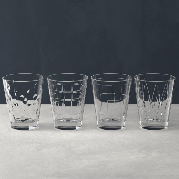 Dressed Up ensemble de verres à eau Clear, 4pièces, , large