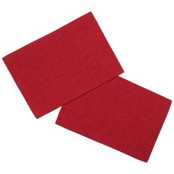 Textil Uni TREND Set de table rouge S2 35x50cm