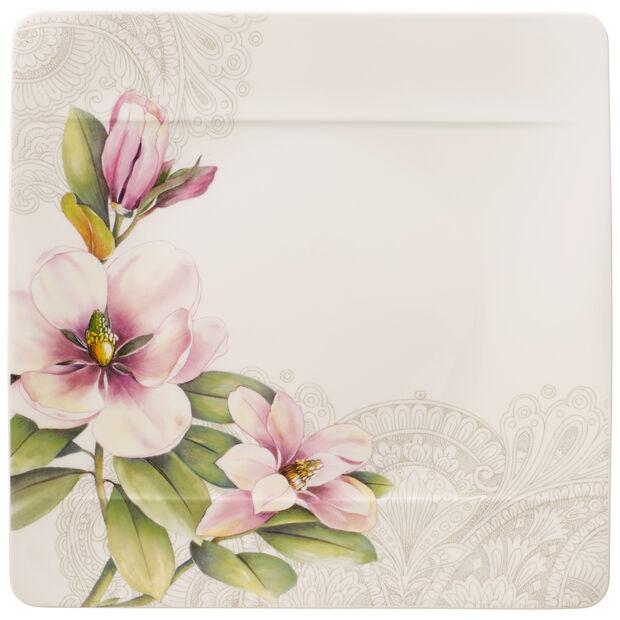 Quinsai Garden assiette plate magnolia MotifD, , large