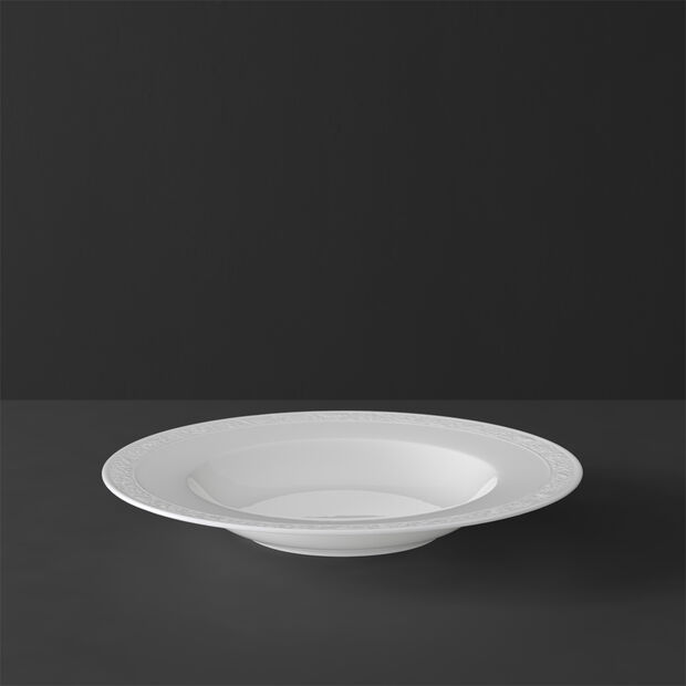 White Pearl assiette creuse, , large