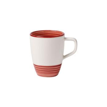 Manufacture rouge mug à café