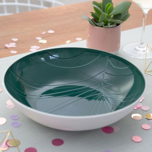 it's my match Green plat creux de service Leaf, , large