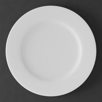 Assiette Gourmet/Place Blanc Nacré