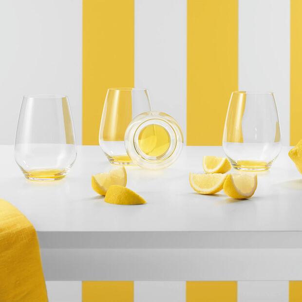 Colourful Life Lemon Pie ensemble de verres à cocktail/eau 4pièces, , large