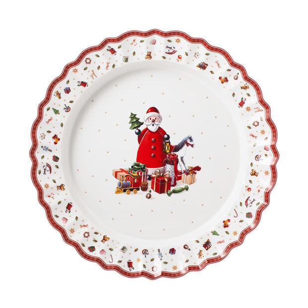 Toy's Delight plat de service, multicolore/rouge/blanc, 45cm, , large