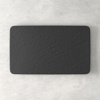 Manufacture Rock assiette multifonctions rectangulaire, 28x17x1cm