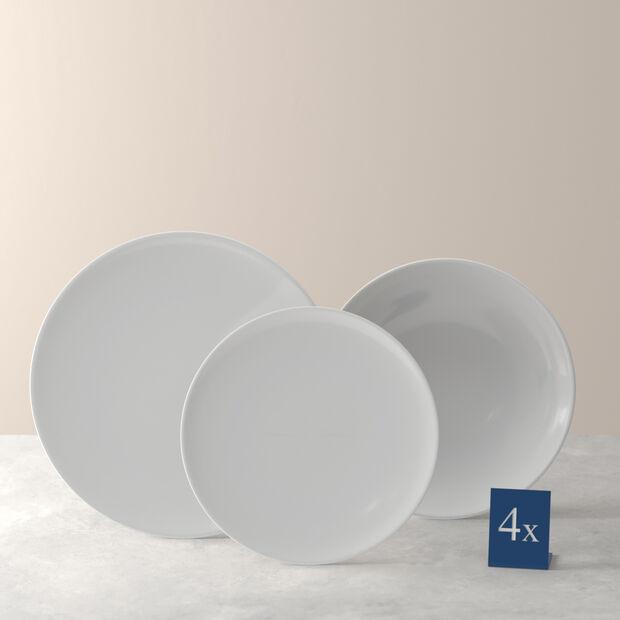 Voice Basic ensemble de vaisselle de base, blanc, 12pièces, , large