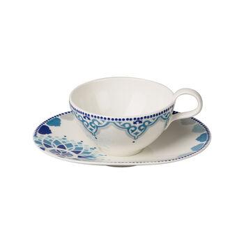 Tea Passion Medina Tasse à thé avec soucoupe 2pcs