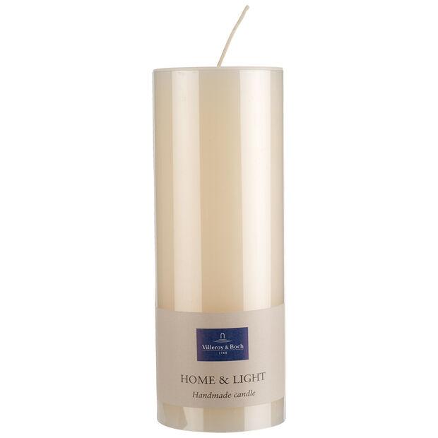 Essentials Bougies Ivoire pillar 19cm, , large