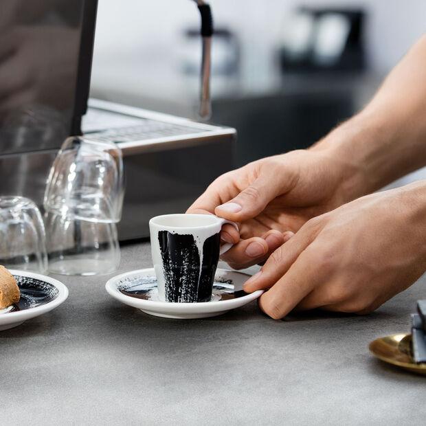 Coffee Passion Awake Tasse à expresso avec soucoupe séparée, , large