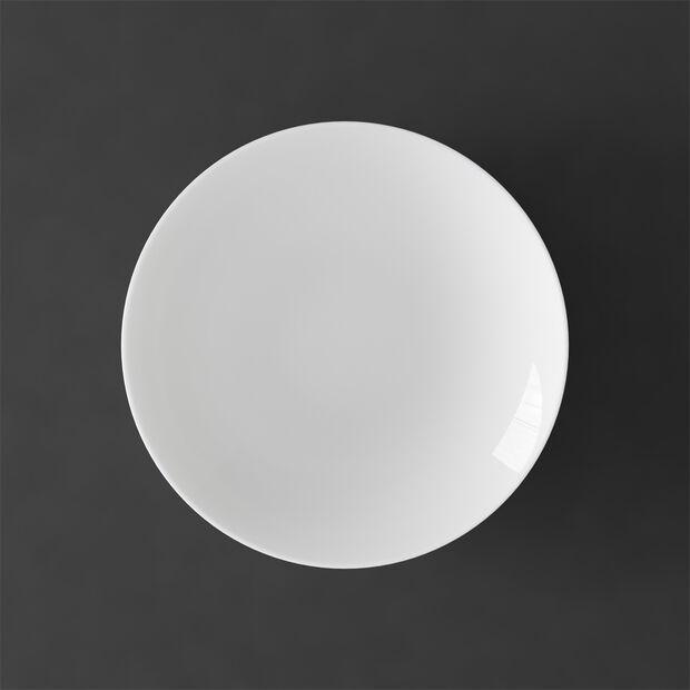MetroChic blanc assiette creuse, diamètre 20cm, profondeur 5cm, blanche, , large