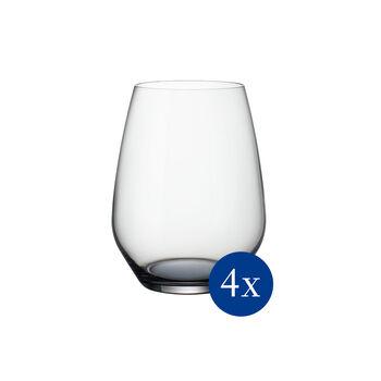 Colourful Life Cosy Grey ensemble de verres à cocktail/eau 4pièces