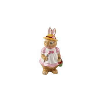Bunny Tales grande figurine Anna, 10,5x11x22cm, rose/marron