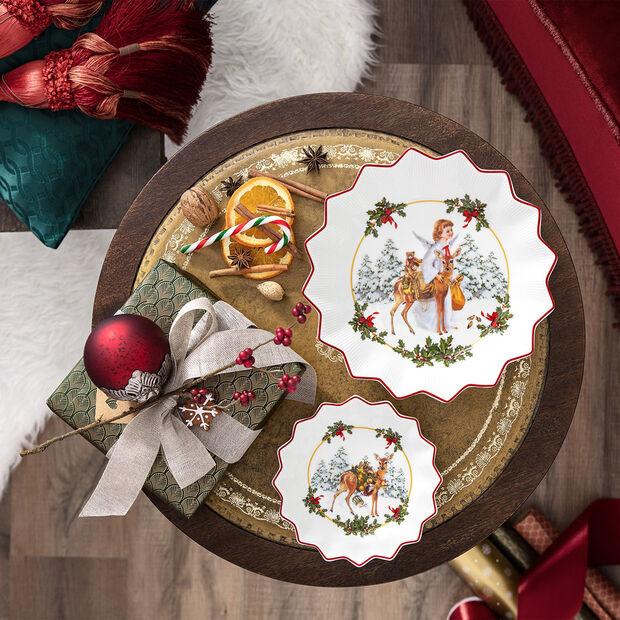 Toy's Fantasy petite coupe faon avec cadeaux, multicolore/rouge/blanc, 16,5x16,5x3cm, , large