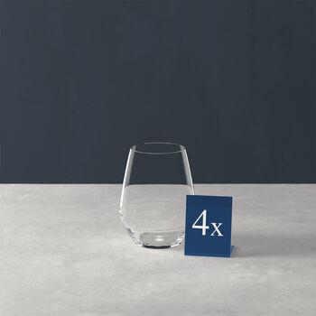 Ovid verre à eau, ensemble de 4pièces