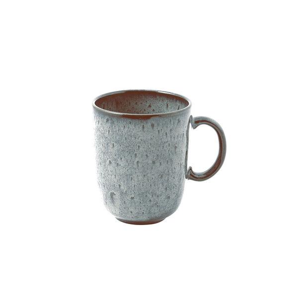 Lave Glacé mug à anse, turquoise, 12,5x9x10,5cm, 400ml, , large