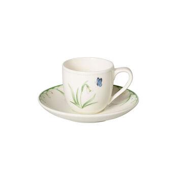 Colourful Spring tasse à expresso, blanc/vert