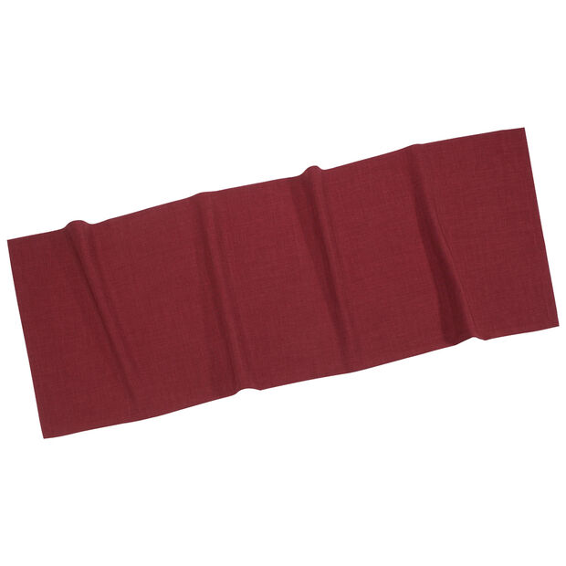 Textil Uni TREND Chemin de table bordeaux 50x140cm, , large