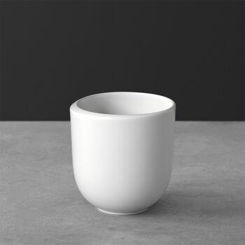 NewMoon mug à café, sans anse, 390ml, blanc