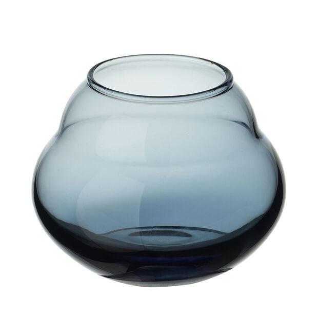 Jolie Bleue vase/support pour bougie chauffe-plat, , large