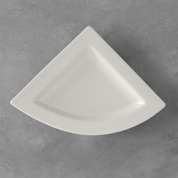NewWave assiette plate triangulaire