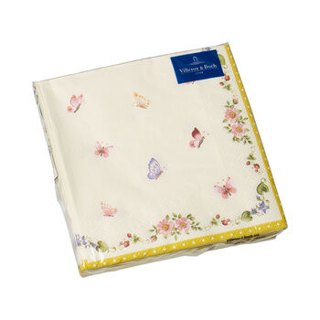 Easter Accessories serviettes de table, papillon, 33x33cm, 20pièces