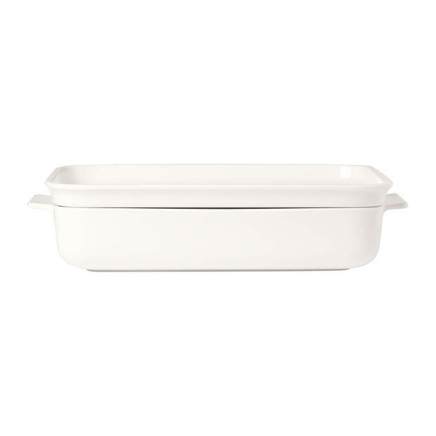 Clever Cooking Plat à four av. couvercle, rectangulaire 30x20cm, , large