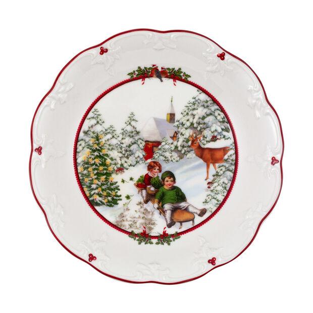 Toy's Fantasy grande coupe promenade en traîneau, multicolore/rouge/blanc, 24,5x24,5x4cm, , large