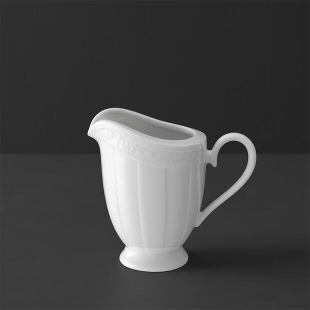 White Pearl petit pot à lait 6pers., , large