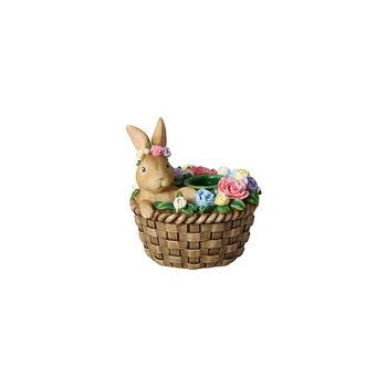 Bunny Tales bougeoir, lapin dans un panier
