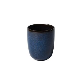 Lave bleu mug sans anse 9x9x10,5cm