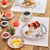 Artesano Provençale Lavande assiette plate au décor floral, , large