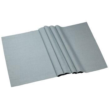 Textil Uni TREND Chemin de table blue fox 77 50x140cm