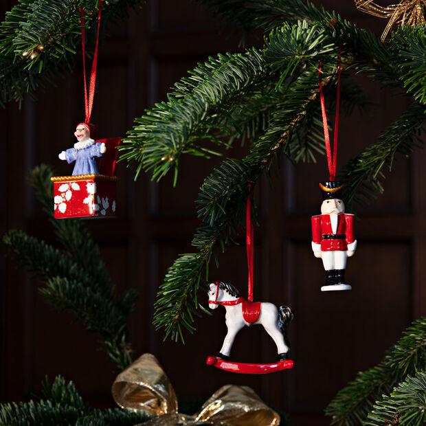 Nostalgic Ornaments ensemble d'ornements jouets, multicolore, 3pièces, 9,5cm, , large