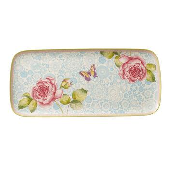 Rose Cottage plat à gâteau carré
