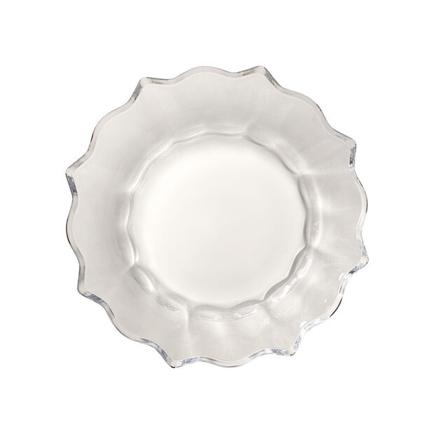 Christmas Glass Accessories coupe, transparente, 25cm, 850ml, , large