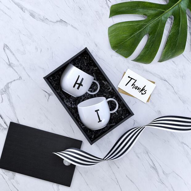 Mug Letters H 13x10x8cm, , large