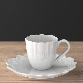 Toy's Delight Royal Classic Tasse à café/thé avec soucoupe 2pcs