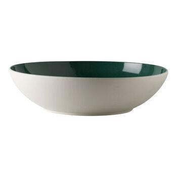 it's my match Green plat creux de service Uni