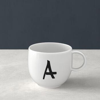 Mug Letters A 13x10x8cm