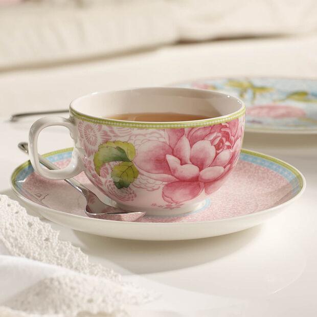 Rose Cottage Soucoupe tasse à thé pink, , large
