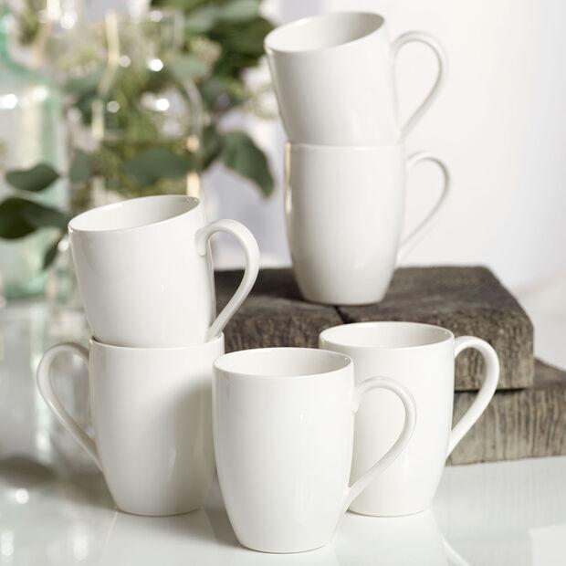 vivo | Villeroy & Boch Group Basic White mug à anse, 6pièces, EC, , large